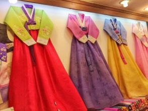Traje tipico coreano Hanbok