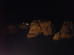 Rouche Sea Rock – Vista de Noche
