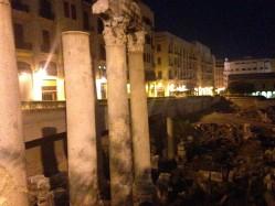 Ruinas Romanas en el centro de Beirut