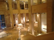Sala Principal Museo Nacional de Arqueología de Beirut