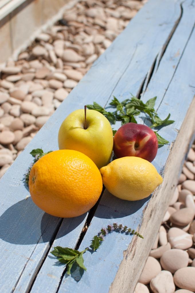 sangria blanca frutas