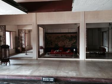 Vista interna de una de las residencias de los reyes