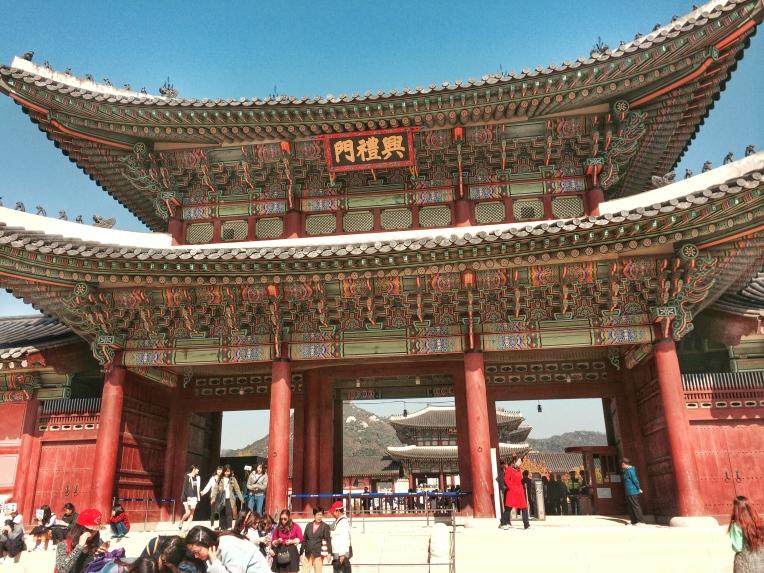 Entrada Principal Palacio de Gyeonbokgung