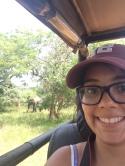 selfie con elefantes
