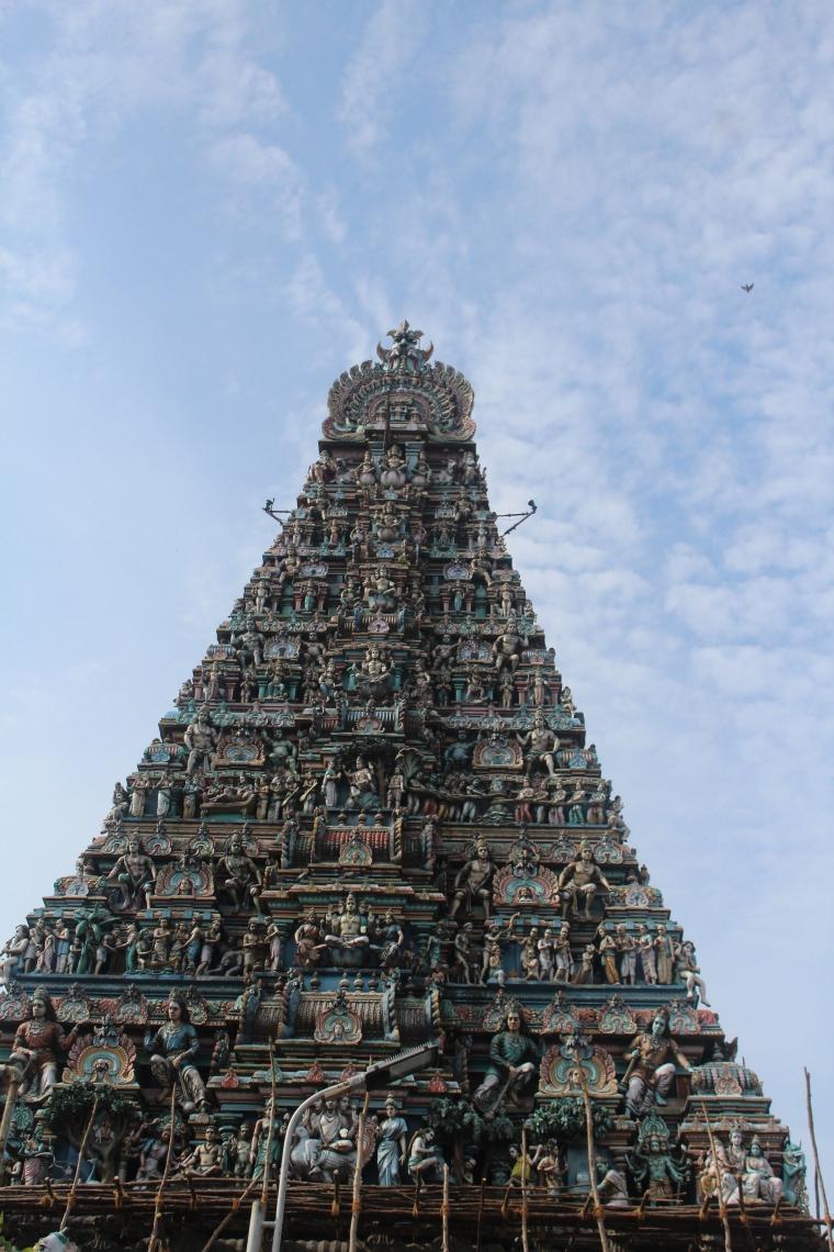 Templo Hindú en Chennai, India