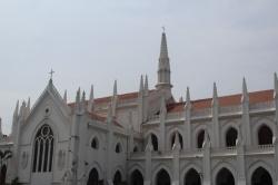 La Basílica de San Tomás en Chennai, India