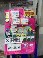 Venta de medicinas en la calle