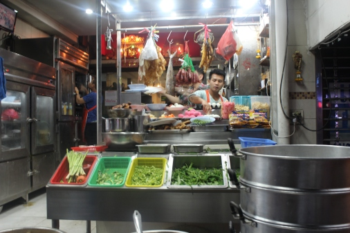 Comida Callejera en Bangkok
