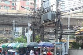 Sistema eléctrico congestionado