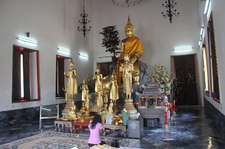 Los tailandeses son muy religiosos