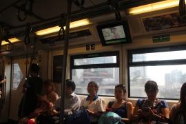 En el Sky Train