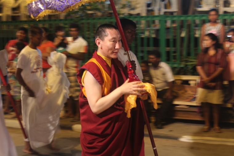 Representante de otras naciones budistas