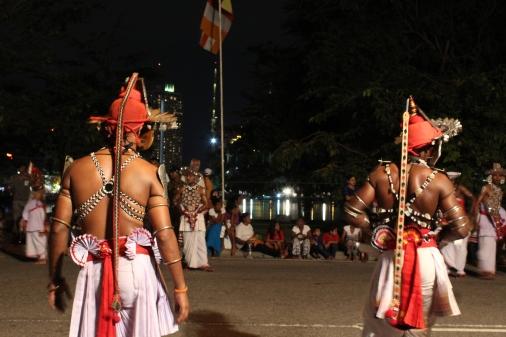 Bailarines de Kandy