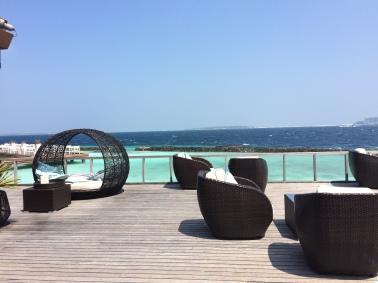 Las Maldivas The Maldives Kurumba bar