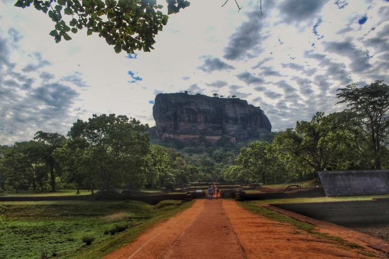 La roca, el león y el castillo:Sigiriya Sri Lanka