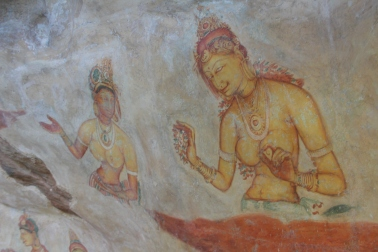 frescos Sigiriya