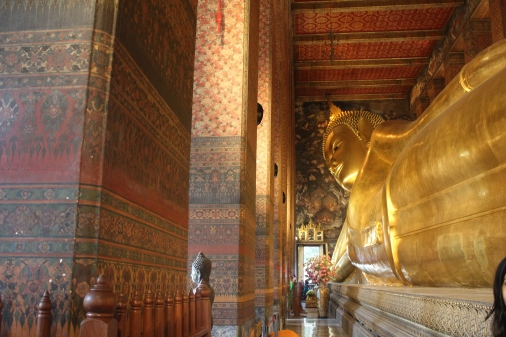 Buda Reclinado de Wat Pho en Bangkok