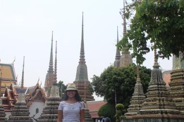 Estupas en Wat Pho