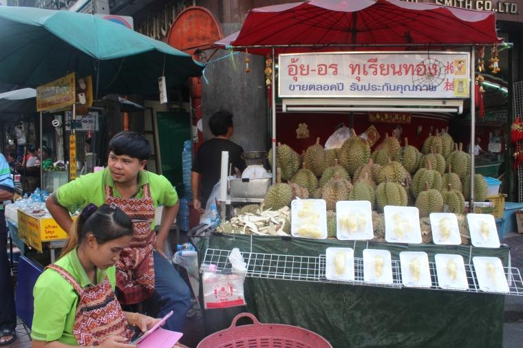 Venta de Fruta Durián