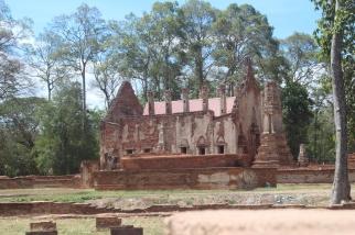 Ruinas del templo Wat Pho Prathap Chang