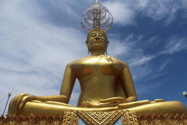 Estatua Gigante Wat Kiriwong Nakhon Sawan