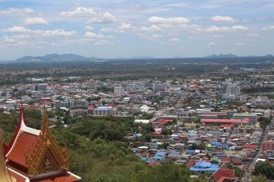 Vista desde el templo