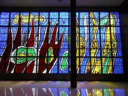 Vitral de la Biblioteca Central de Fernand Léger