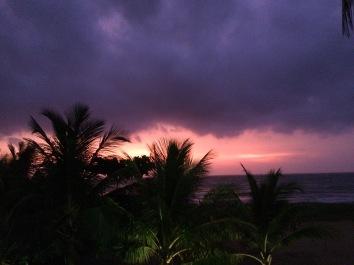 Atardecer en Negombo