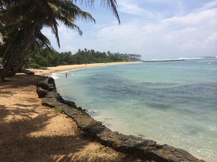 La playa oculta de Mirissa