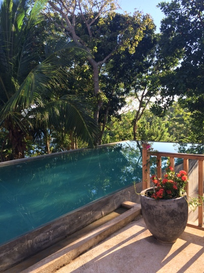 Piscina en Ratnakara Retreats