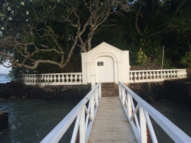 Entrada a la isla Trapobane