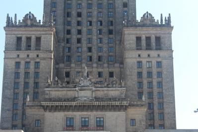 Detalles Palacio de la Cultura y la Ciencia