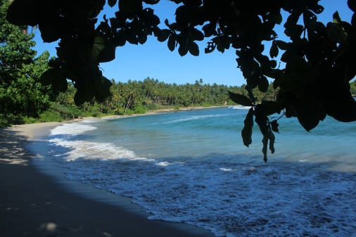 Hiriketiya la mejor playa de Sri Lanka