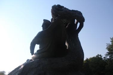 Estatua de Chopin en el Parque Łazienki
