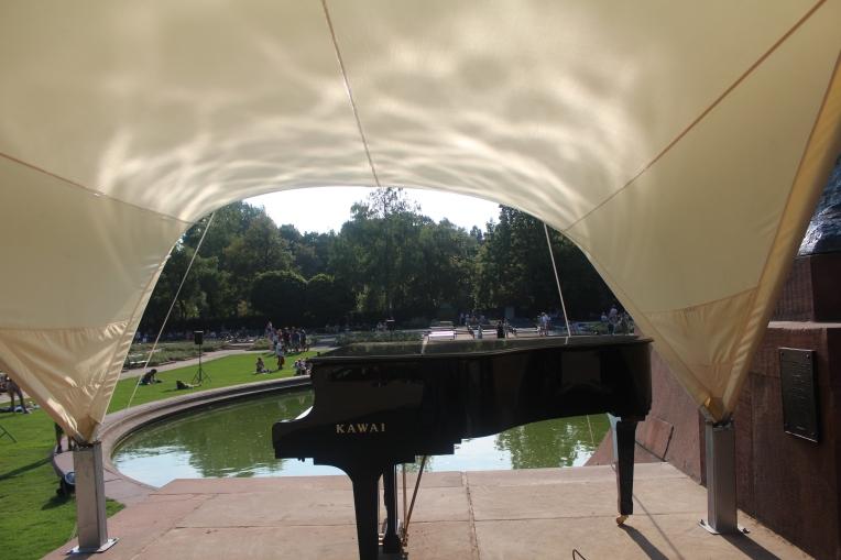 Conciertos de verano de piano en Varsovia