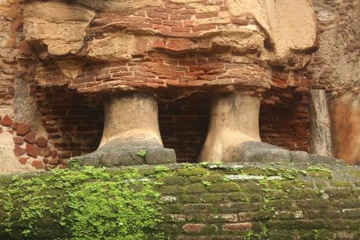 Pies del Buda Lankatilaka
