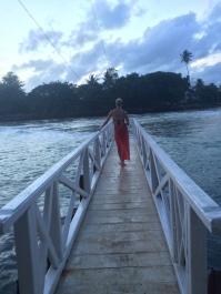 Muelle de la isla Trapobane