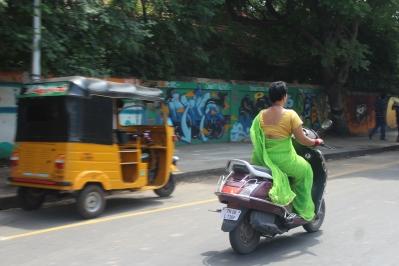Las mujeres parecian mas independientes que en Sri Lanka