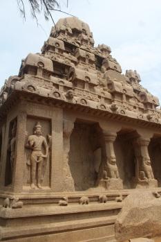 Pancha Rathas Mahabalipuram Chennai Tamil Nadu India