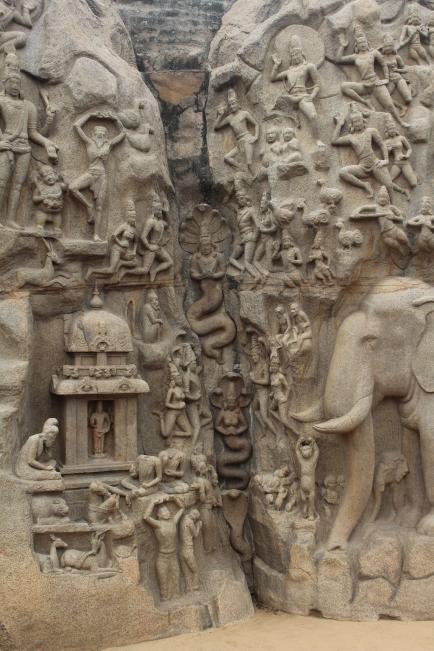 Descenso del Ganges Mahabalipuram Chennai Tamil Nadu India