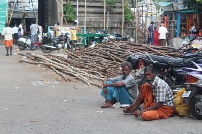 Gente de Chennai India Tamil Nadu