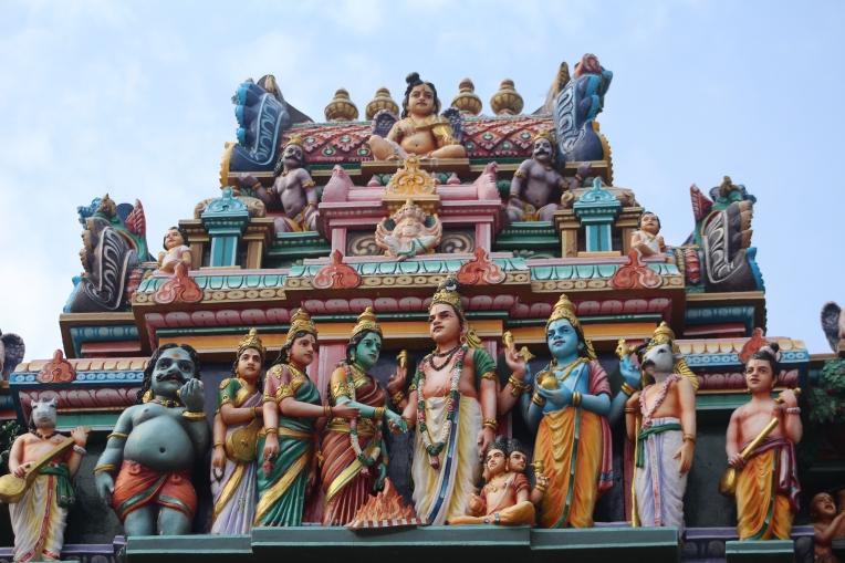 Dioses Hinduismo Chennai Templo Shiva India