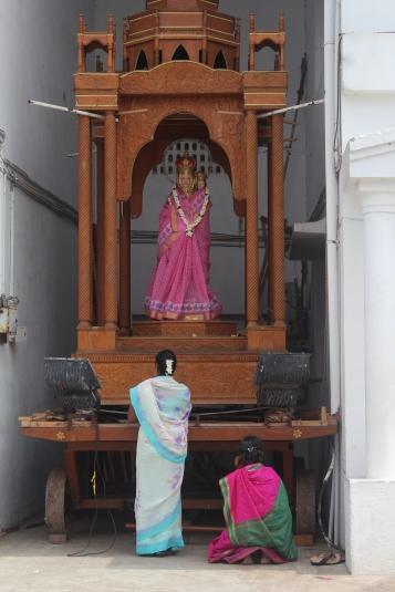 Virgen Maria en Sari