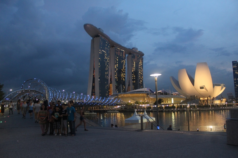Resort Marina Bay Sands en la Marina Bay