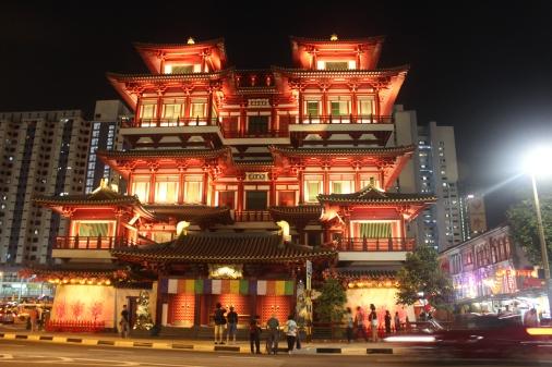 Templo de la reliquia del Diente en Singapur