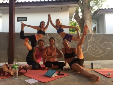 Después de mi tercera clase como profesora de yoga