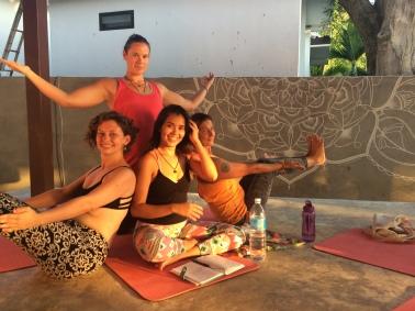 Después de mi segunda clase como profesora de Yoga