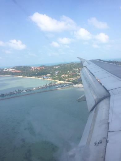 Aterrizando en Koh Samui