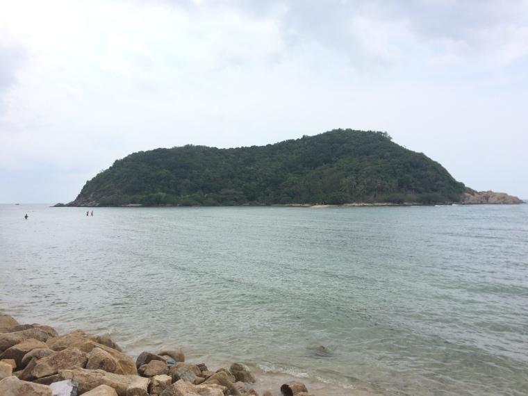 Koh Ma visto de la playa Haad Mae Haad