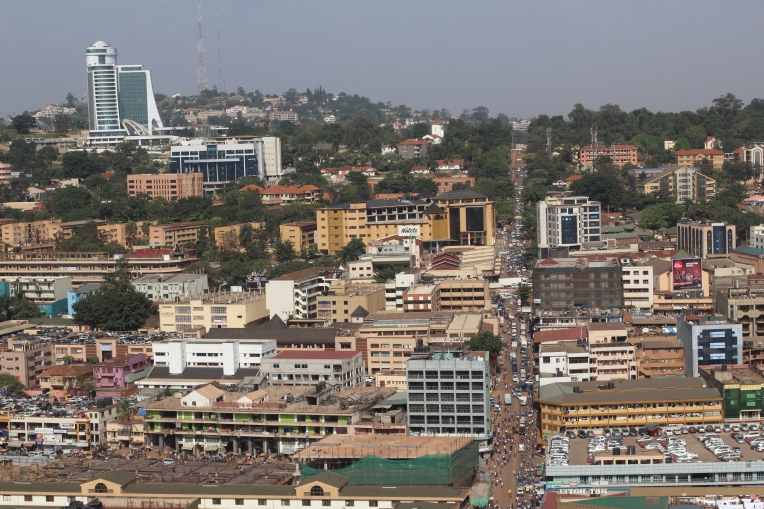 Colinas de Kampala, vista desde la Mezquita Nacional - Uganda